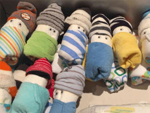 Nursery Ready Diaper Babies