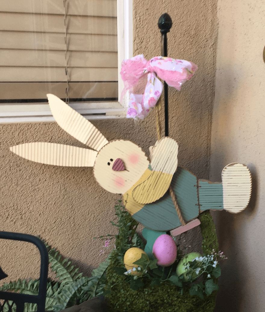 Easter Bunny Caught In The Act