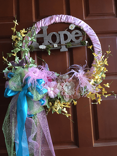 Hope Spring Wreath